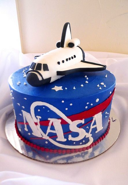 nasa | Astronaut birthday, Birthday party cake, Rocket cake