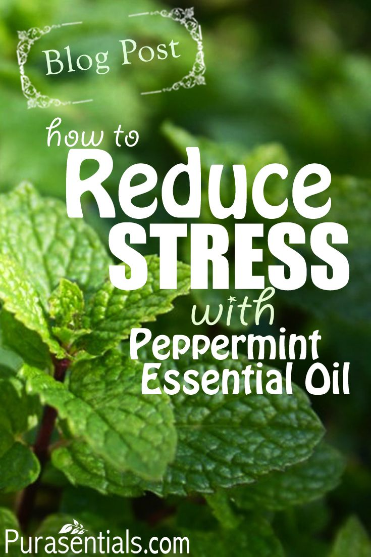 High levels of stress can be harmful for both mental and physical health. Discover how to reduce your stress levels using peppermint essential oil and other relaxation techniques in this Blog post. http://www.purasentials.com/blog/how-to-reduce-stress-with-peppermint-oil