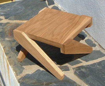 Pequeña mesa de roble | madera | Pinterest | Mesa de roble, Roble y ...