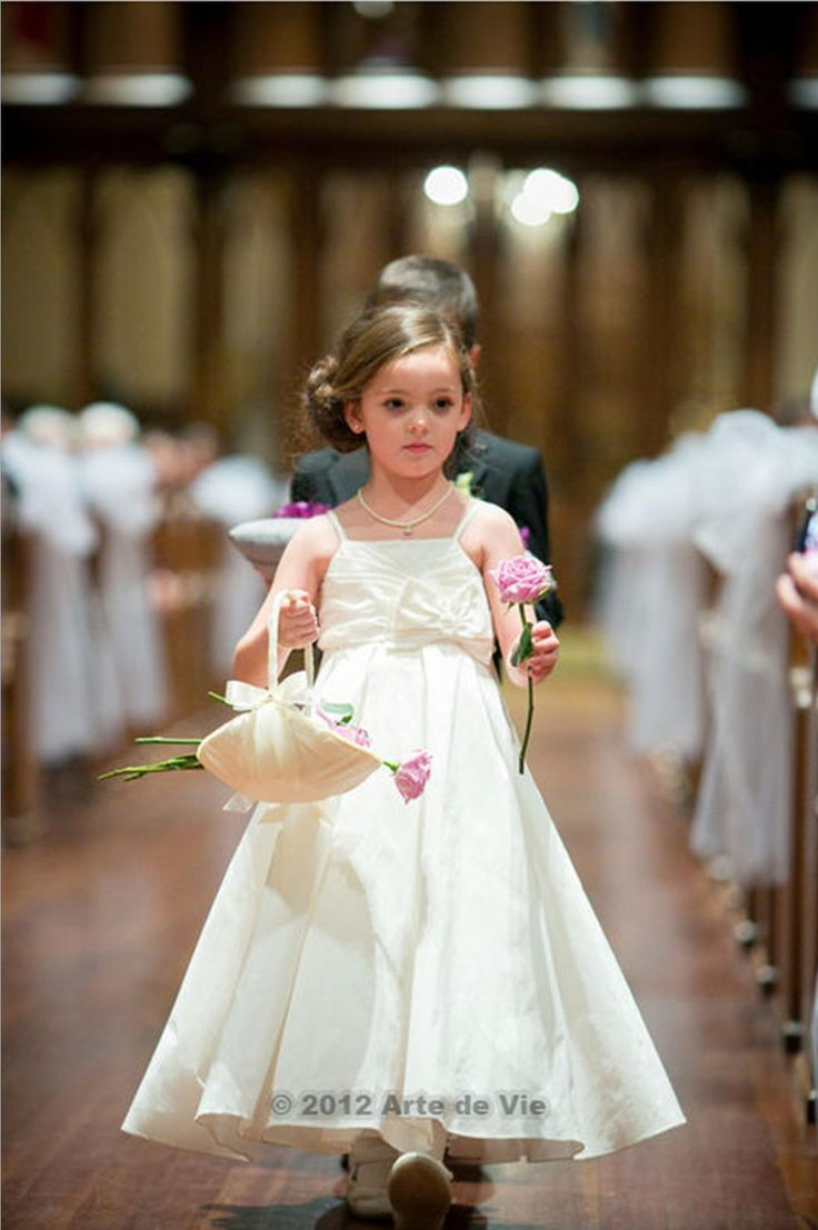 Flower girl ideas- Have your flower girl pass out flowers rather ...
