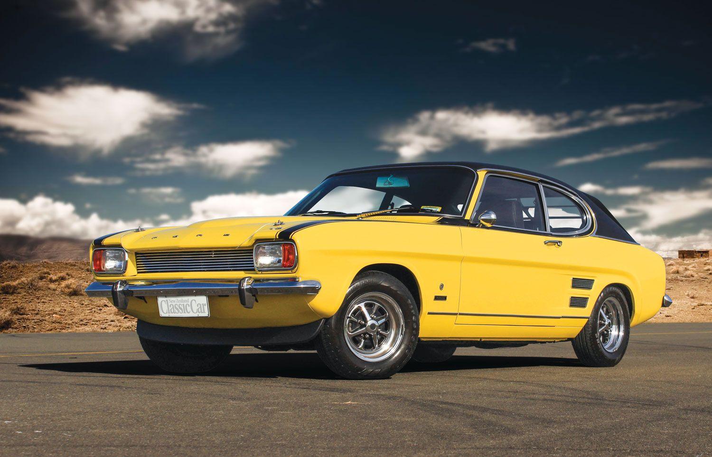 A Perana V8 Ford Capri That S A Long Way From Home Ford Capri