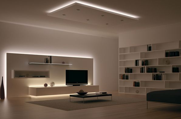 Indirect Lighting Ideas Tv Wall Basements Indirect Lighting Ideas Tv