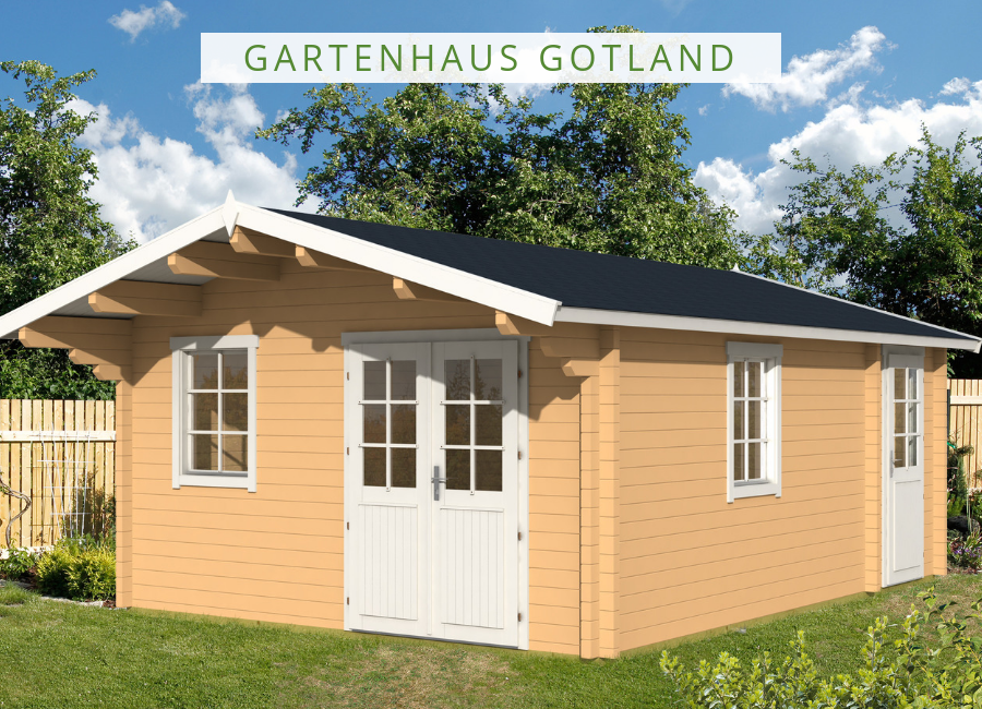Gartenhaus Modell Gotland B 70 111739 Gartenhaus, Haus