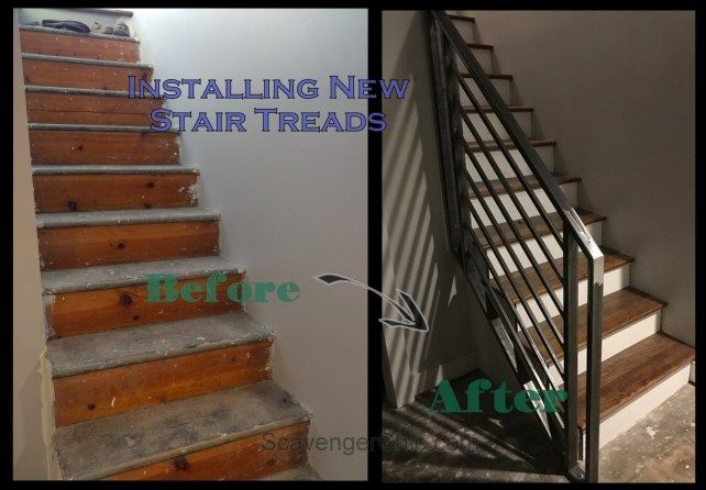 Refacing Treads Over Existing Stairs