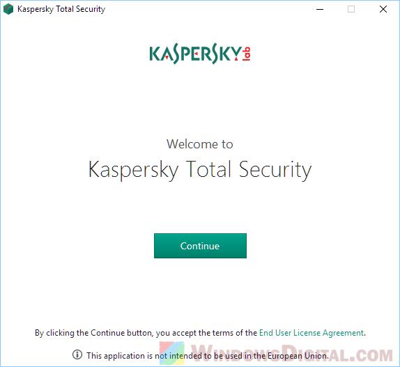 Kaspersky Total Security 2019 Offline Installer Download Offline Security Download