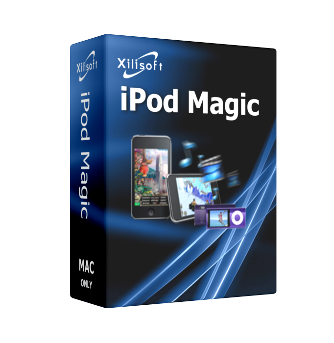 Xilisoft iPod Magic for Mac not only can copy iPod