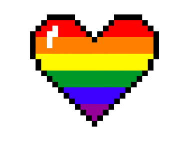 Pixel Art Heart Stickers Heart Stickers Pixel Art Overlays Picsart