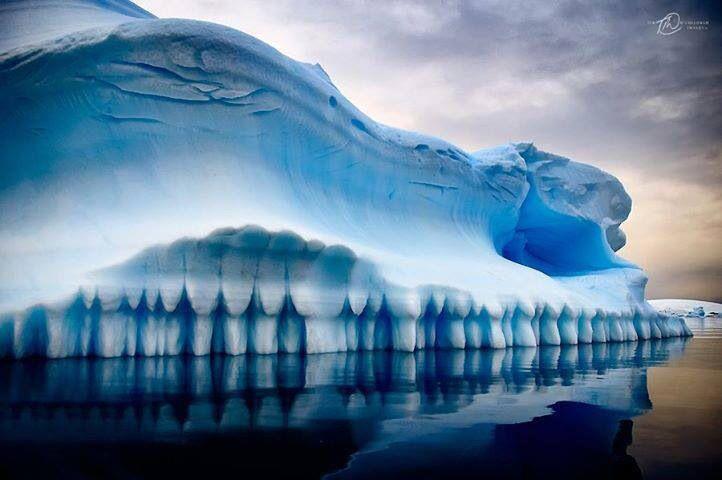 Blue & White Ice