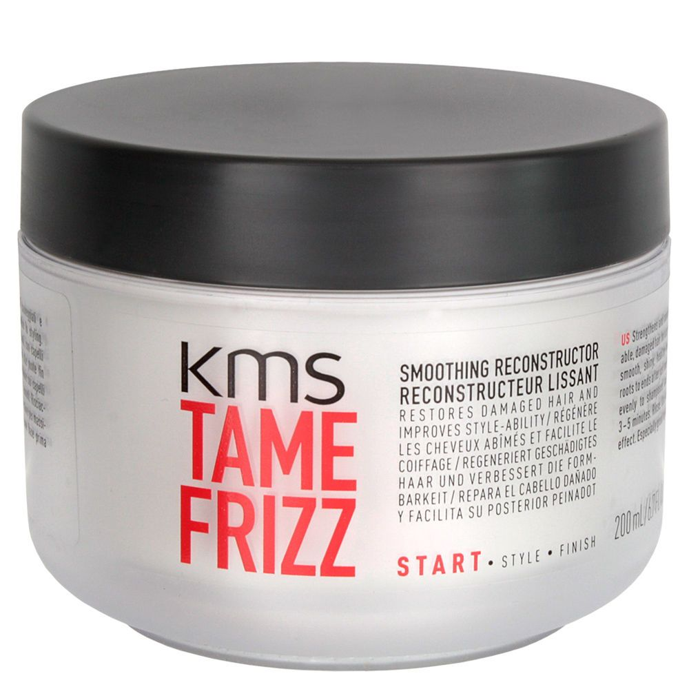 KMS TAMEFRIZZ SMOOTHING RECONSTRUCTOR 6.7 oz / 200 ml Softens Stressed hair  #kms