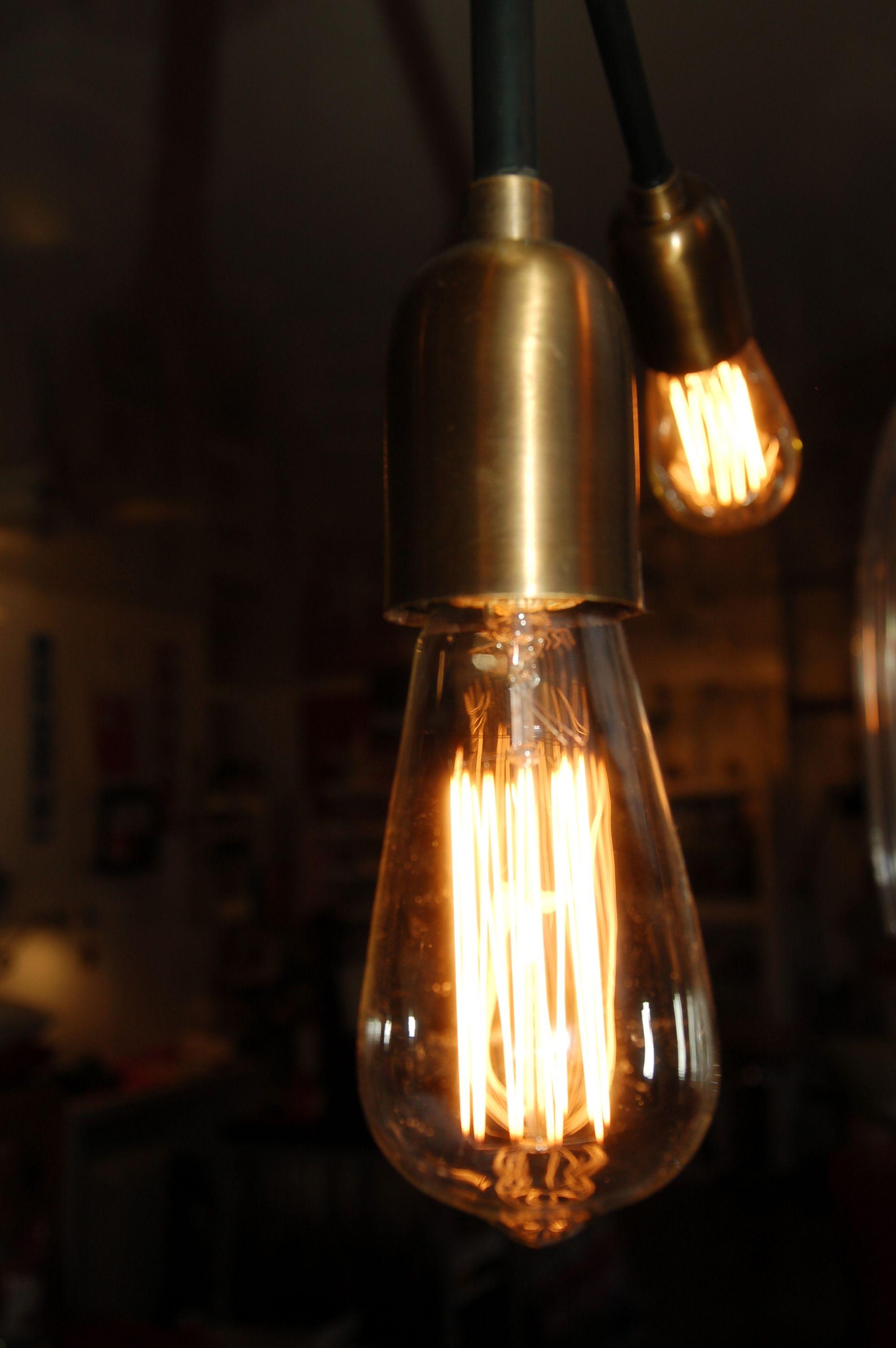 Ampoule Edison Filament Decorative Itineraire Bis Luminaire Lamp Decoration