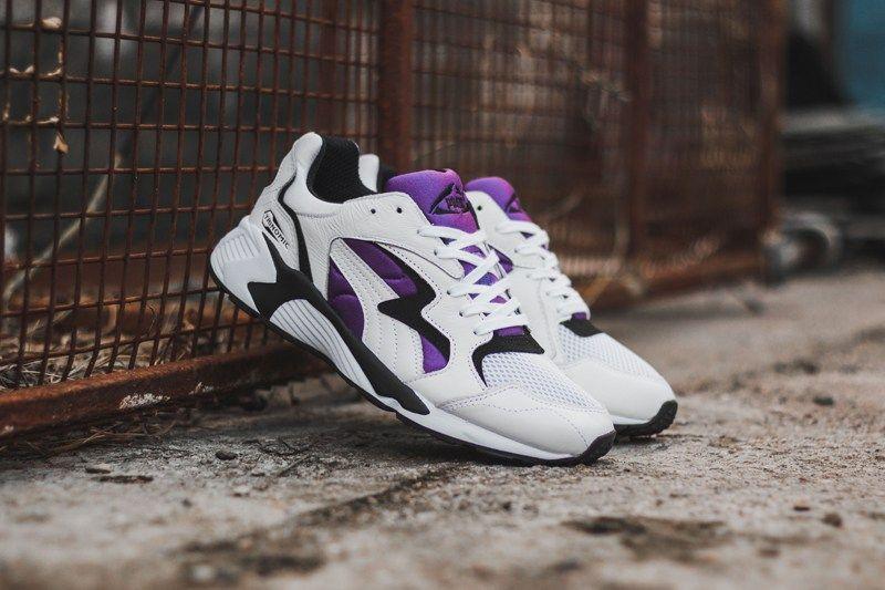 separation shoes da3f1 ef330 PUMA Prevail OG White Black Royal Purple