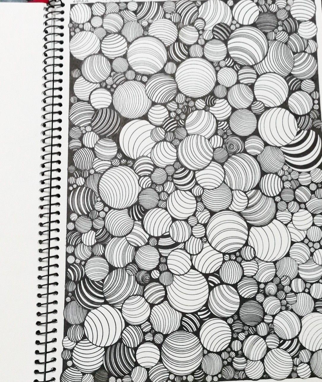 coola mönster att rita