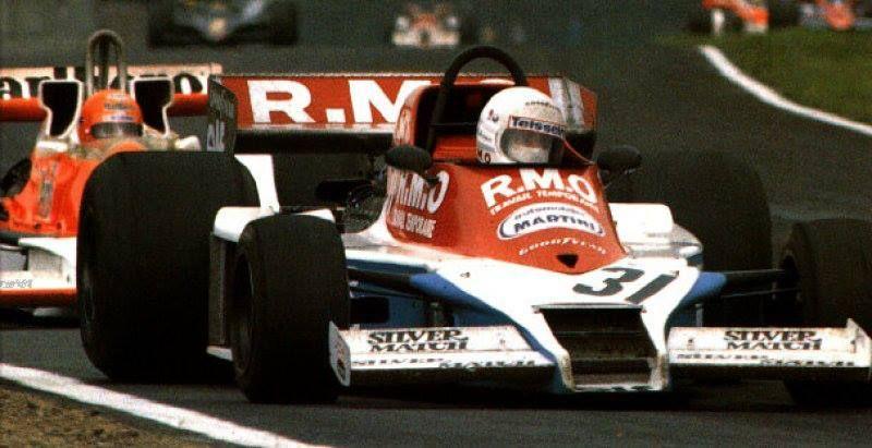 f1  GP da Bélgica de 78 marcou a estreia de René Arnoux na F1, depois de duas não-qualificações. Seu carro era um Martini-Ford, do fabricante francês de monopostos de categorias de base, como F3 e F-Renault