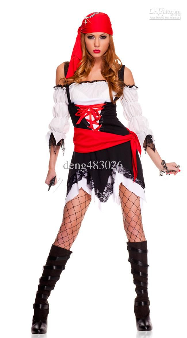 buy cheap arrive sexy pirate costume women s cosplay sexy with 1985 2506piece - Pirate Halloween Costumes Women