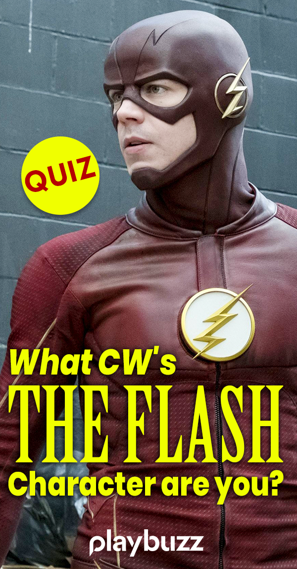 What Cw S The Flash Character Are You Flash Characters The