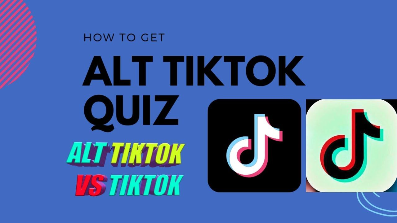 What Is The Alt Tiktok Quiz Find Out Which Side Of Tiktok You Re On Tictok Vs Alt Tictok Quiz Alt Sides