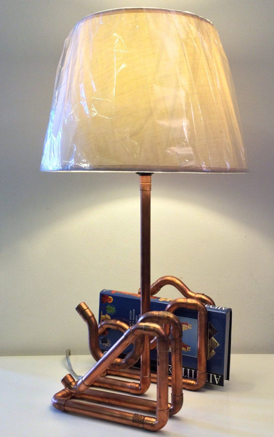 Table lamp copper lamp desk lamp bedside lamp book stand