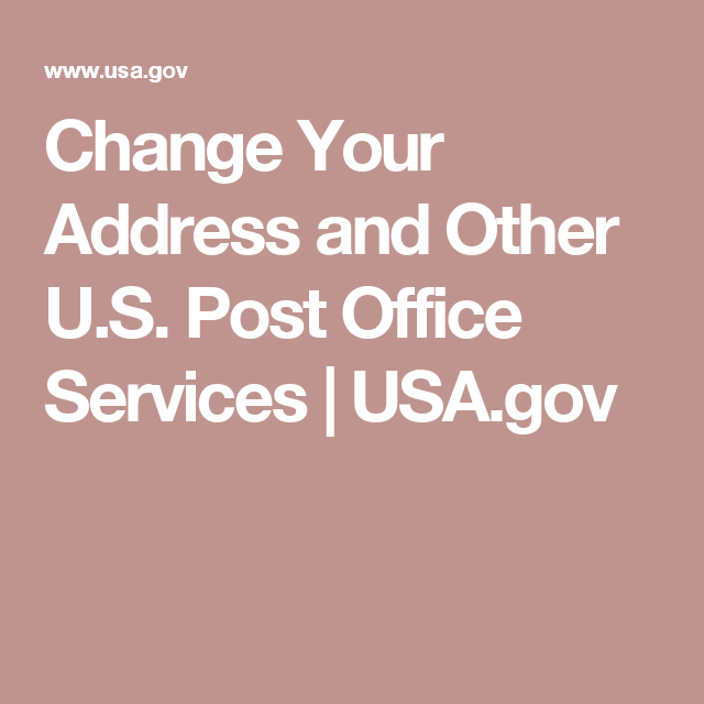 Change your address and other us post office services usa find answers to the most popular post office questions find this pin and more on do it yourself solutioingenieria Choice Image