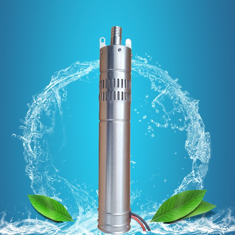 Kary 12 Volt Dc Submersible Pump Deep Well Screw Solar Pump Stainless Steel Solar Water Pump Submersible Water Pumps Solar Water Pump