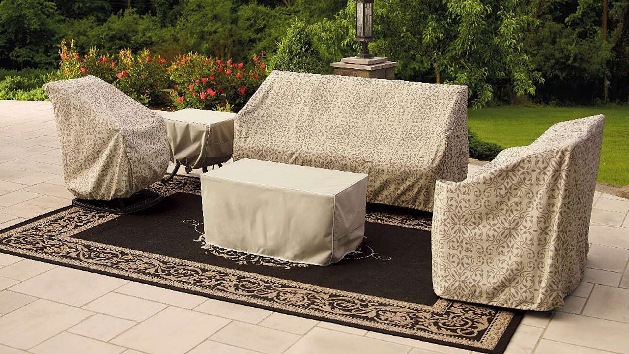 Stylish Outdoor Patio Furniture Cover For Wrought Iron Furniture
