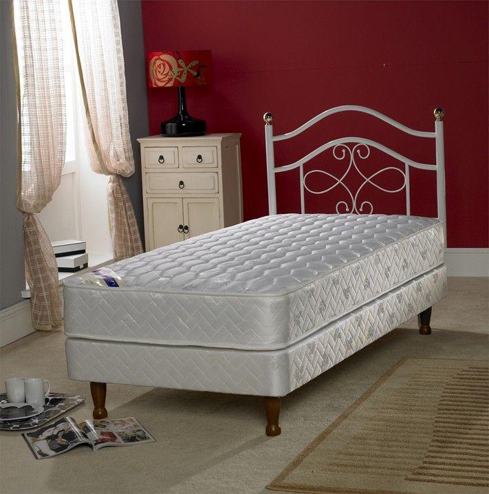 960c7a53ddf Chelsea 3ft Single Bed Base on Legs King Size Divan Bed