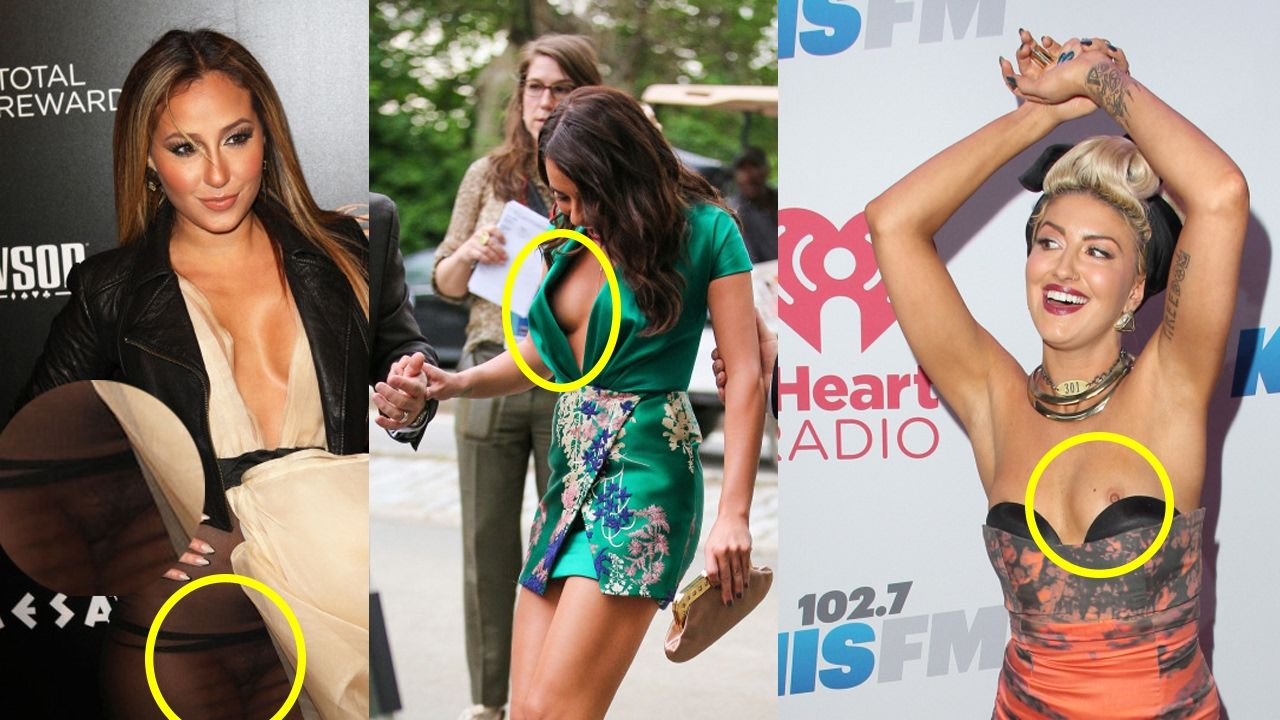 Pin On Embarrassing Celebrity Wardrobe Malfunctions