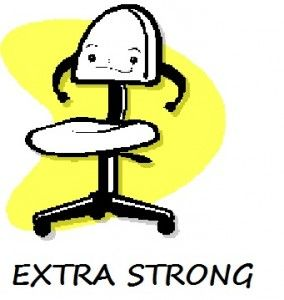 Extra Strong Office Chairs For The Heavy Worker It Makes Complete Sense Good To Know They Exist