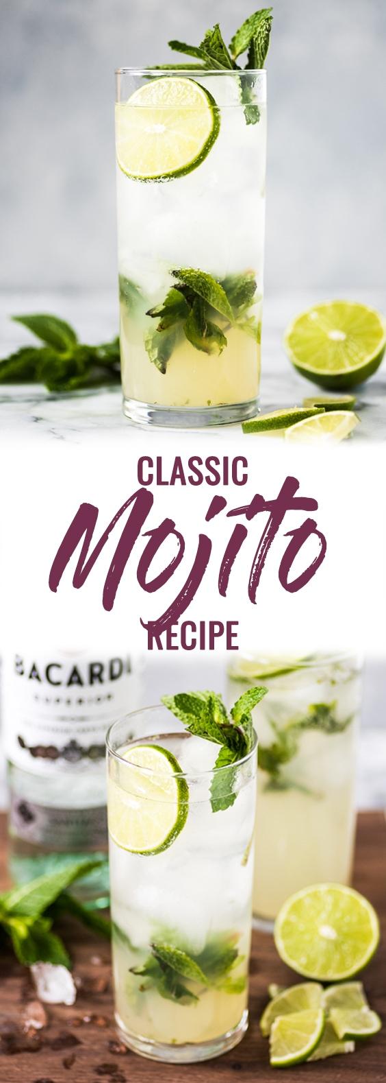Classic Mojito Recipe Mojito Recipe Best Mojito Recipe Easy Mojito Recipe