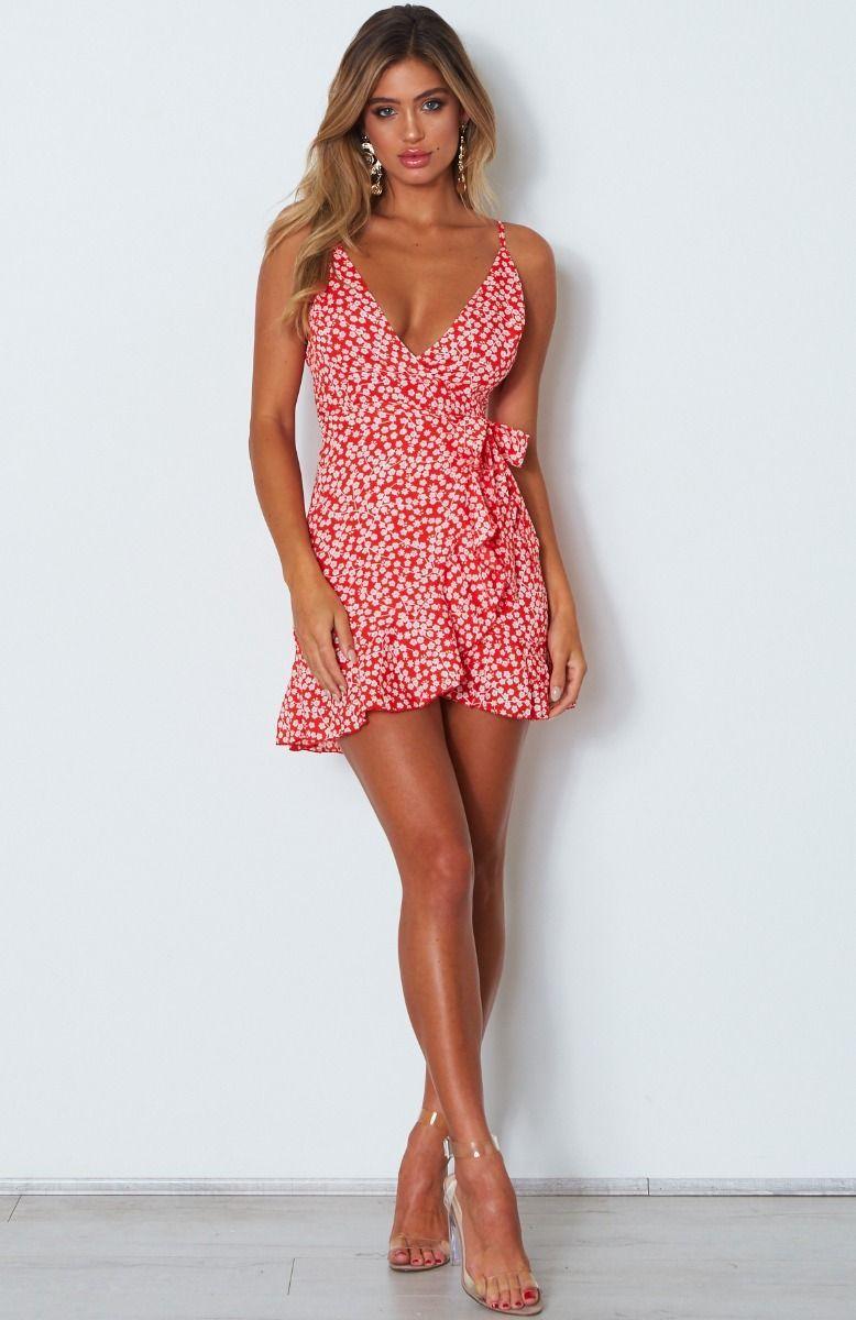 Yacht Club Mini Dress Red Print | Moda de ropa, Moda, Ropa