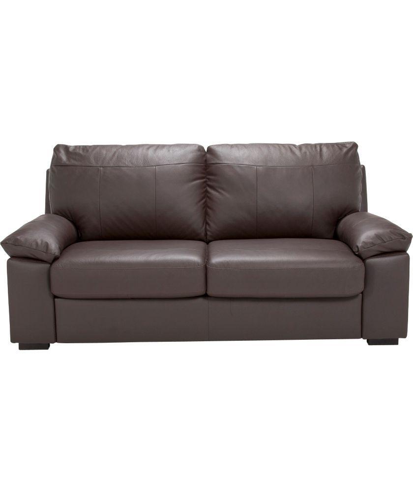 argos logan leather sofa. Black Bedroom Furniture Sets. Home Design Ideas