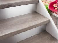 kit de marche renovation escalier chene gris saint maclou. Black Bedroom Furniture Sets. Home Design Ideas
