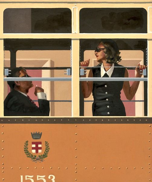 The Look of Love?  Limited Edition Giclee Published in 2010 Signed and numbered by Jack Vettriano Paper: 350gsm Museum Etching Paper Edition Size: 250 + 25 Artist's Proofs