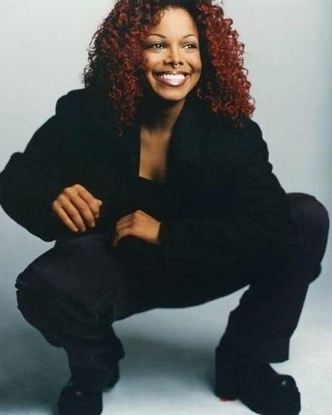 Curly Red Hair Janet Jackson Style Michael Jackson Janet Jackson Jackson 5 Janet Jackson Janet Jackson Velvet Rope Janet Jackson 90s