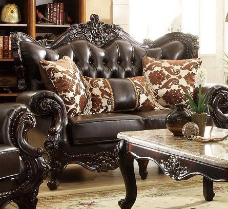 Barcelona Leather Loveseat