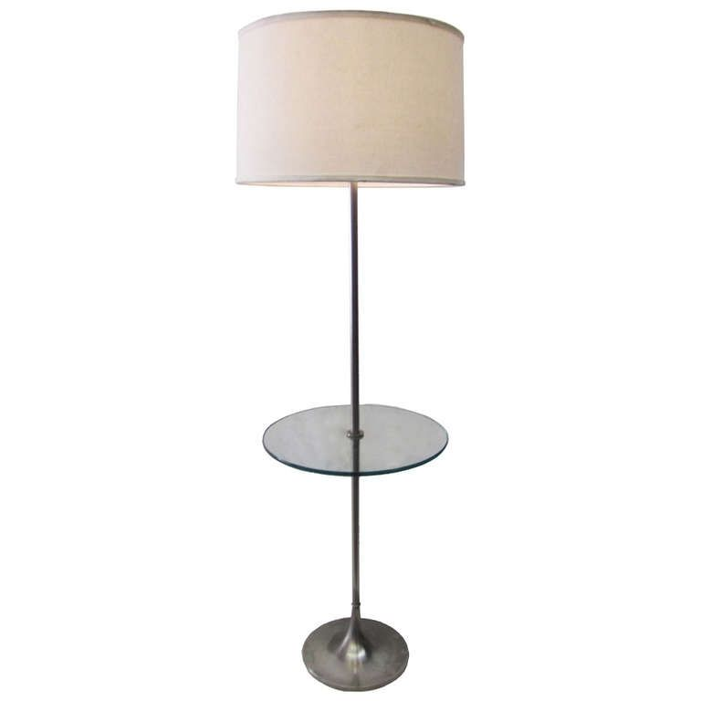 Best Combination For Your Floor Lamp With Table Attached With Your Room Theme