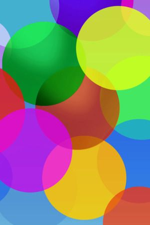 Download Free 3d Colors Bubbles Mobile Wallpaper Contributed By