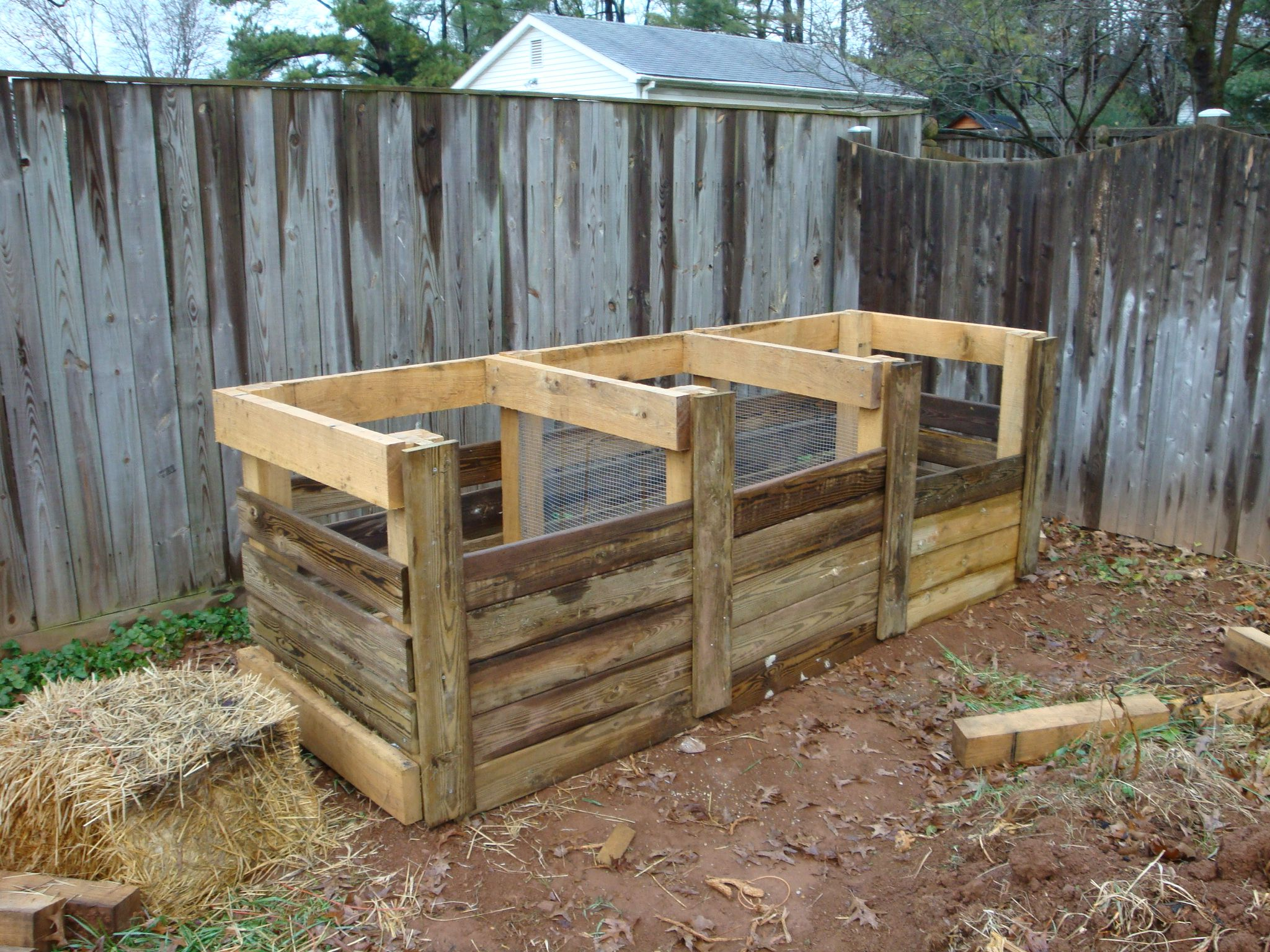 Beautiful Great Compost Bin Plans. With Slight Alterations This Will Work Great!