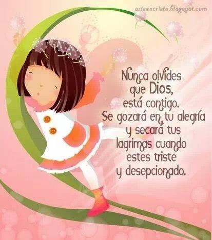 Dios está conmigo