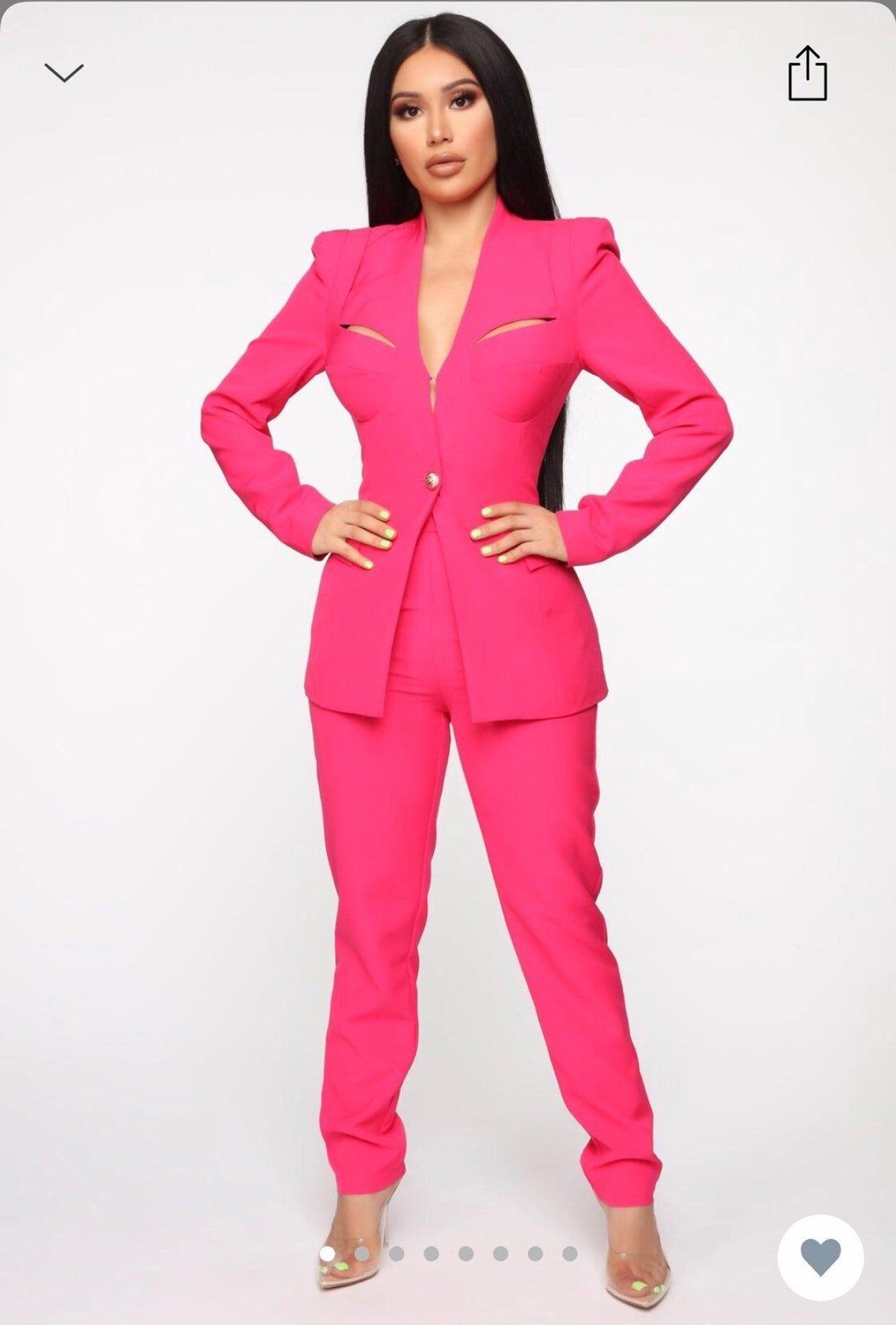 Hot Pink Pants Fashion Nova