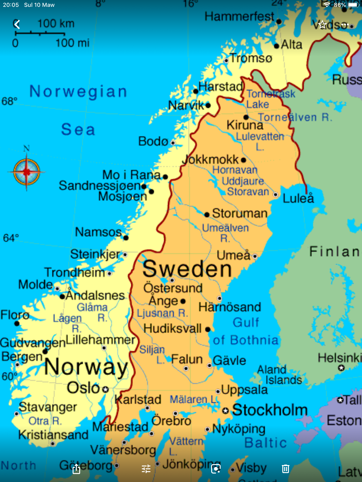 Pin By Greg Johnson On X902 Sweden Travel Norway Sweden Finland Norway Map