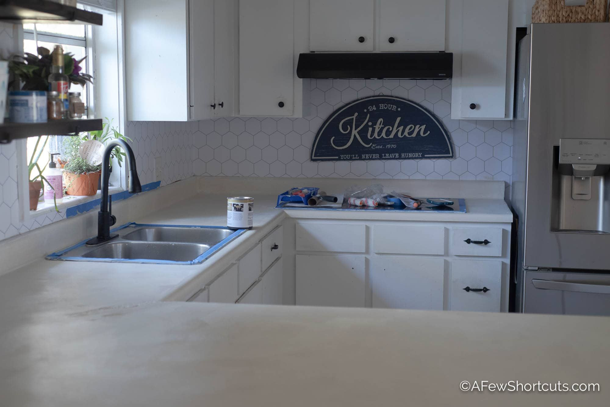 How To Resurface Countertops Low Voc Low Cost In 2020 Countertops Resurface Countertops Countertop Refinishing Kit