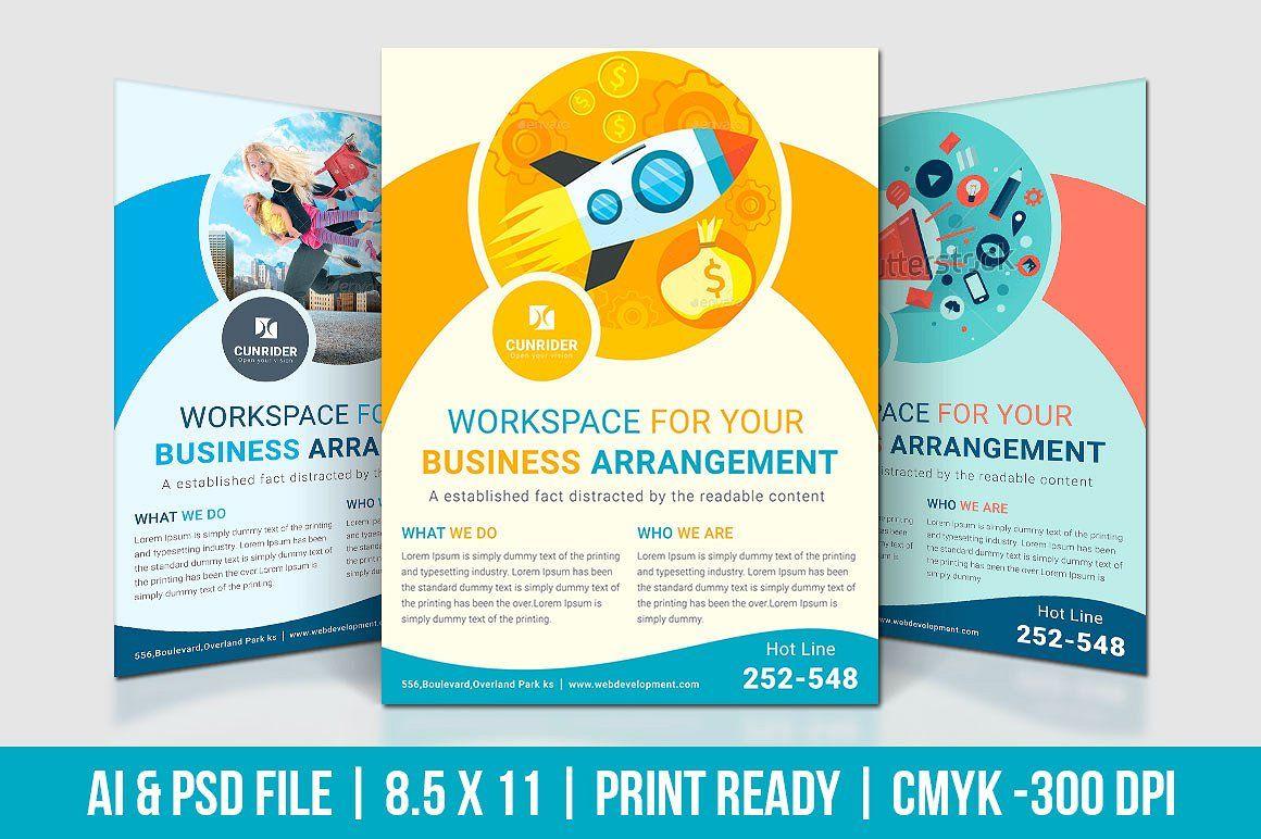 Digital Marketing Flyer Software Graphics Included Formats