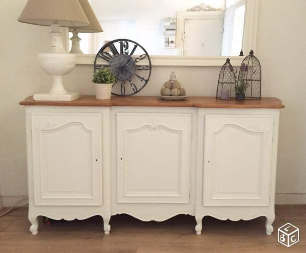 buffet 3 portes style louis xv restaur relookage de meuble pinterest buffet shabby and. Black Bedroom Furniture Sets. Home Design Ideas