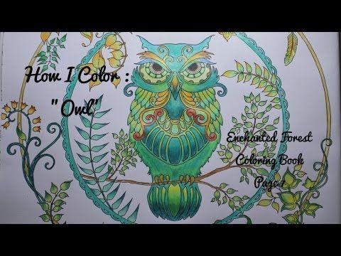 How I Color Owl