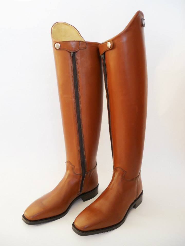 1e609082b38fd Custom dressage boot in brown, boots are made to measure and custom ...