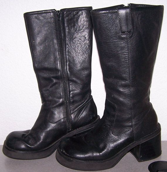 50 OFF Club Kid platform boots Candies black by CommonCentsThrift, $29.50
