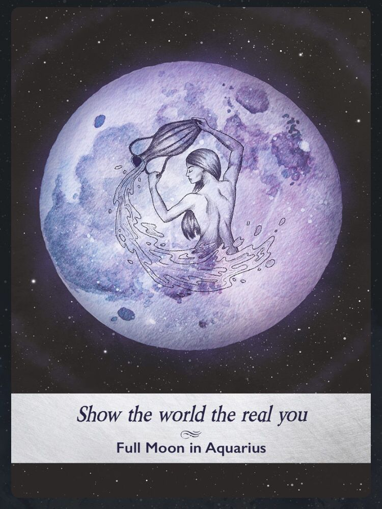 Pin On Moonology Oracle Cards