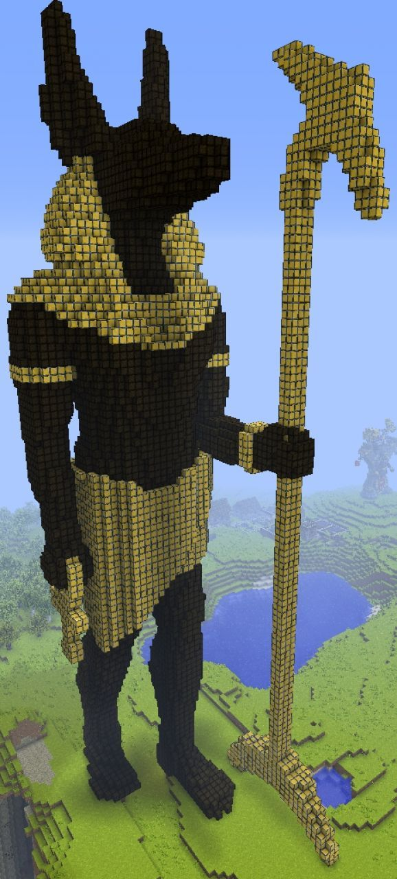 Pin By Sarabeth Mclaughlin On Anubis Minecraft