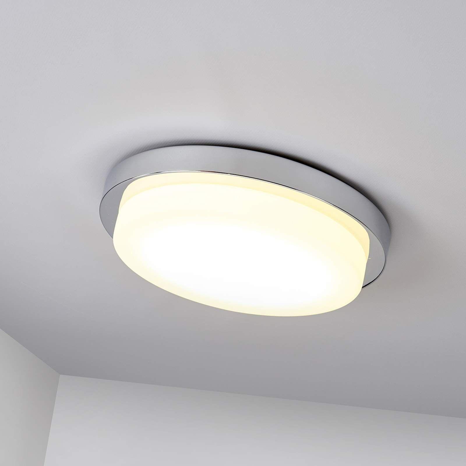 Moderne Deckenleuchte Von Lampenwelt Com Silber Led Deckenlampen Badezimmerlampe Und Deckenlampe