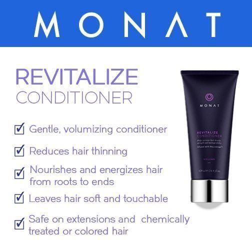 Monat Global | Revitalize Conditioner | Boost Hair Density